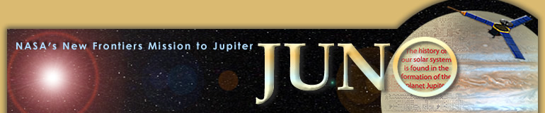 NASA's New  Frontiers Mission to Jupiter - JUNO - The history of our solar system is  found in the formation of the planet Jupiter